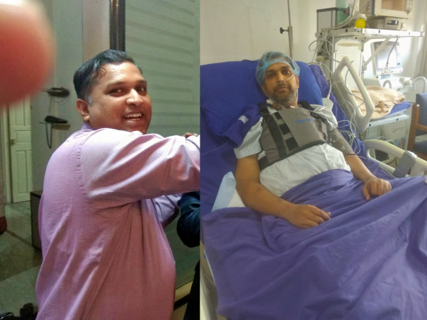 Help Deepak Gupta Undergo A Heart Transplant