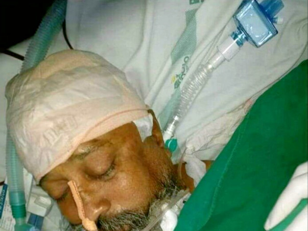 My father Mr. Paramjeet Singh met an accident few days ago.
