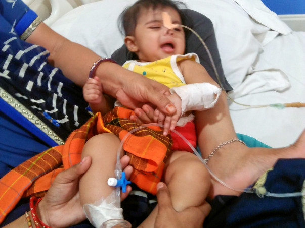 Help Baby Dhrati Patidar Fight Kidney Infection N CommonCloaca Patient