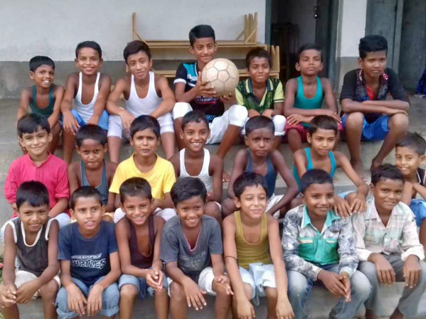 Help Poor and Orphan Children Get Education, Food and Shelter.