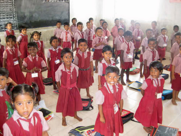 Sponsor Computers To Mary Matha School, Trichy
