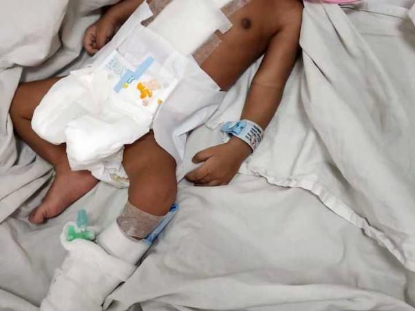 Help 1 Month Old Boy Master Arhan Asif Undergo Open Heart Surgery
