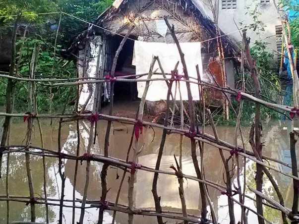 Help Me To Reconstruct My Flooded House
