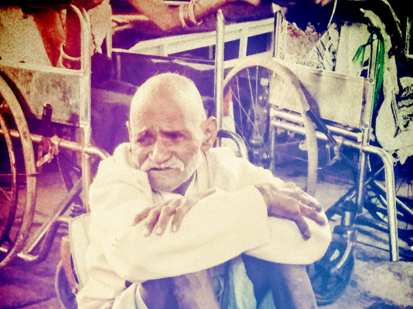 Pledge your support for the elderly, abandoned and dying destitute!