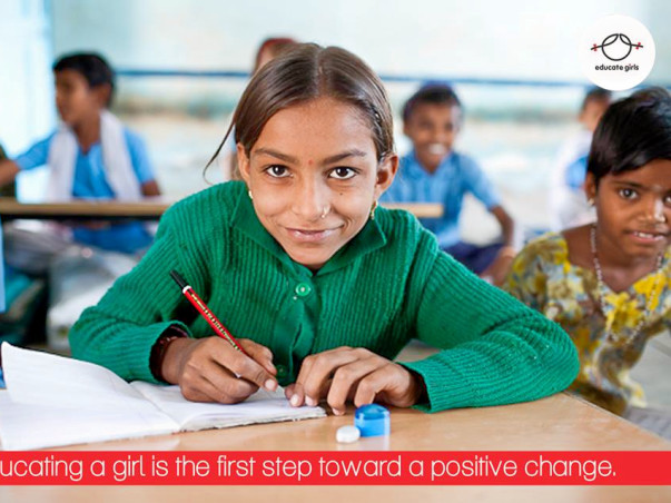 I am fundraising to educate girls
