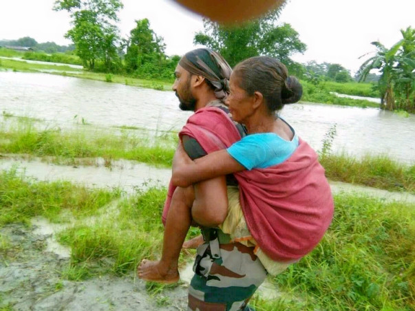 Assam awaits for your help! Help your vacation spot,its drowning!