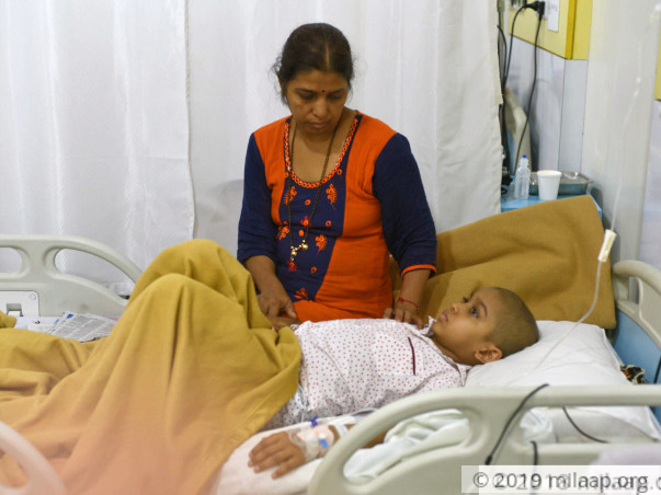 Support 8-years old Ruturaj to undergo his treatment
