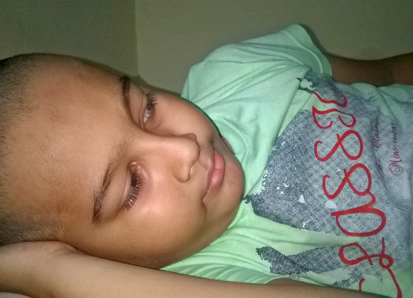 Help my 8 year old son Kushagra to fight with blood cancer.