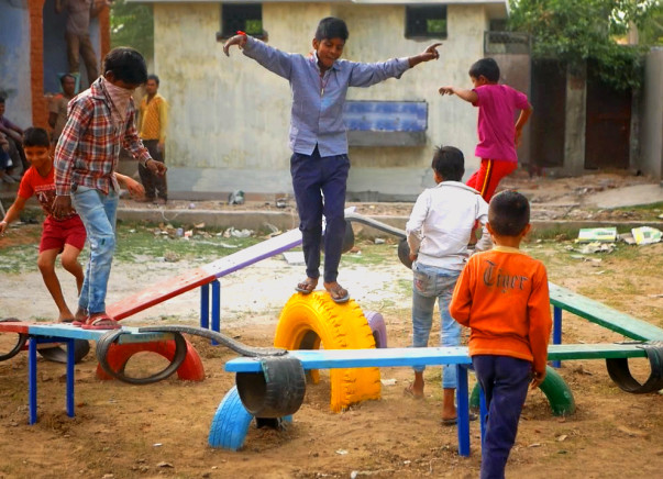 Build a Playground for Doddahulluru Government School