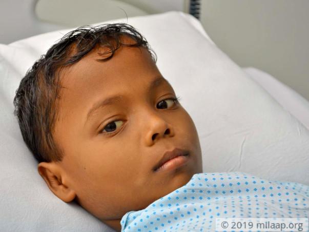 Help Raju Nayak Fight Thalassaemia Major