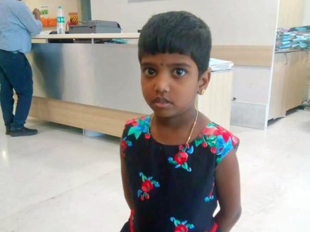 Please help 5 Year old Vidyavikasini to Recover from Thalassemia Major