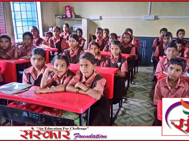 Help To Give A Digital Education For Adiwasi Students