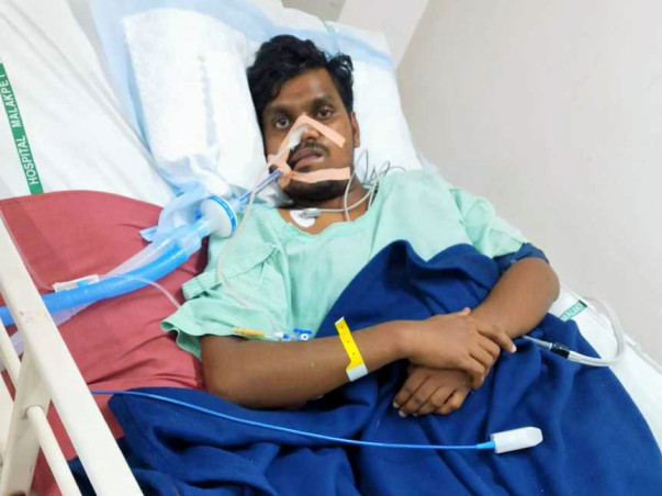 23 Year Old Vinay Kumar Needs Your Help Fight Guillain-barré Syndrome
