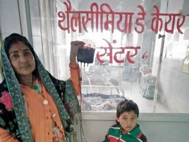 Help 8-year-old Devendra Fight Thalassemia