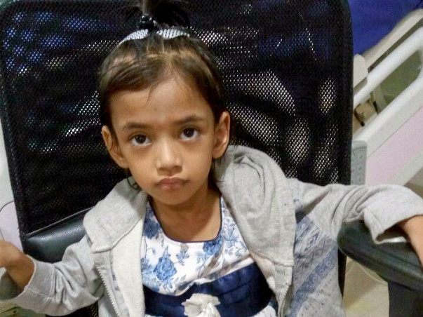 Help Aaroyhi Fight Genetic Disorder of Intestine
