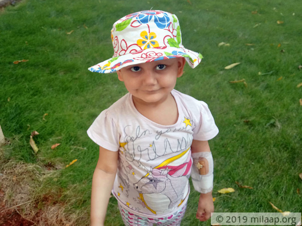 Baby Who's Spent All Her Birthdays Getting Chemotherapy Needs Help