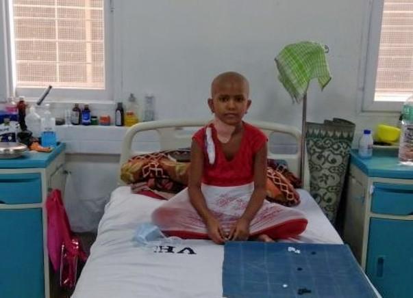 Help 9-year-old Akshata fight cancer