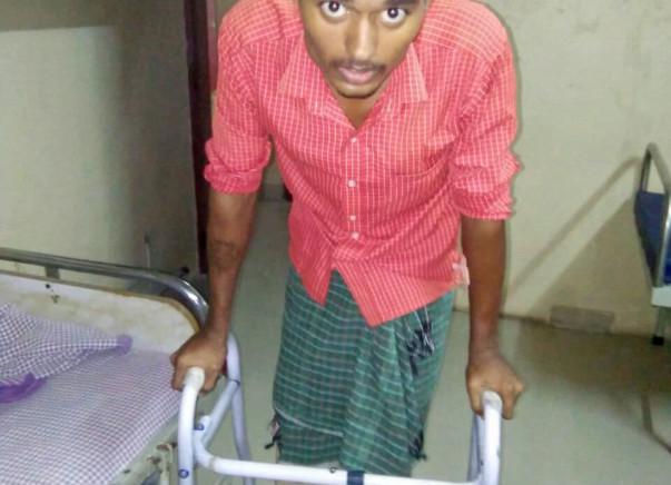 Help Kamalkant Walk, Run and Work Again