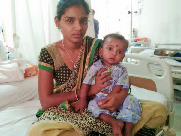 Help 8-month-old Kavish fight a severe blood disorder