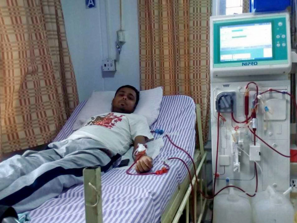 HELP DEBOMOY BANERJEE FOR HIS REPEAT DIALYSIS
