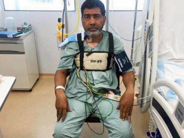 Shakeel Must Live For His Children. With Your Support He Can!