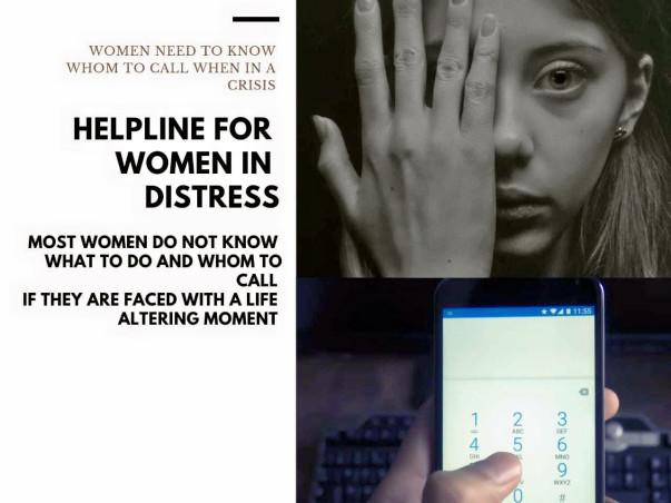 Helpline for Women in Distress