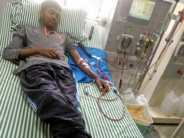 Help for Kidney Transplant 19-Year Old Boy on Dialysis TOSAVE HIS LIFE