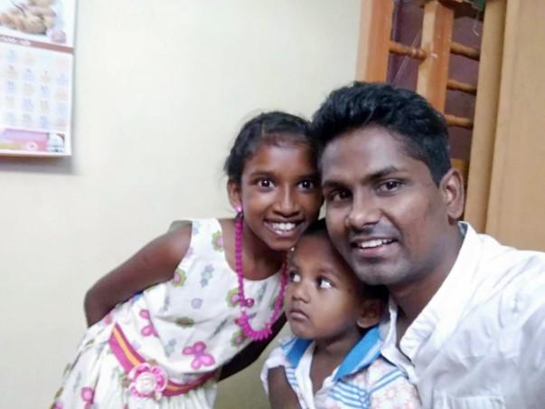 Help critically injured Arun Samuel survive his near-fatal accident