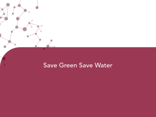 Save Green Save Water