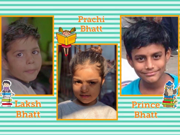 Help These 3 Children to Get Good Education