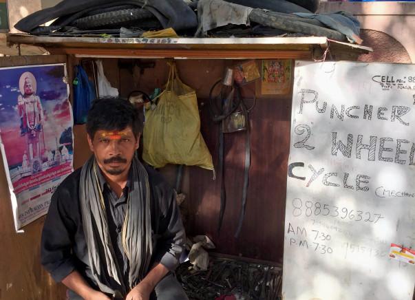 Help Nagababu reclaim his equipment to run his cycle shop better.