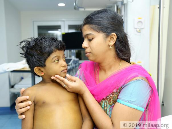 Babi prishalin needs your help to fight disease