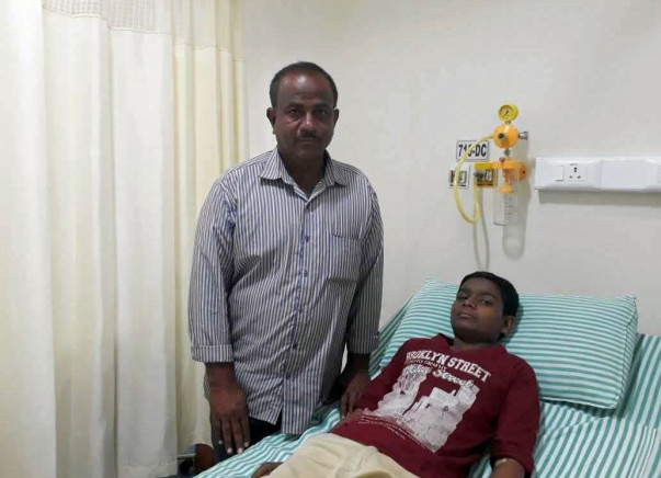 Help Santhosh Get Treatment For His Severe Blood Disorder