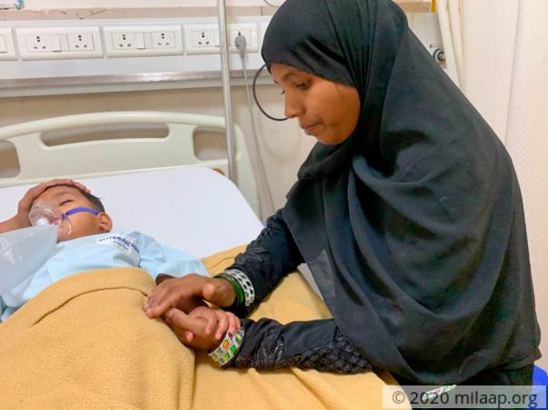 Help Baby Anisa to undergo her treatment