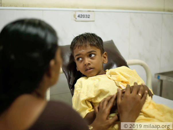 Help 7-year-old Motheeswaran fight a severe immune disorder