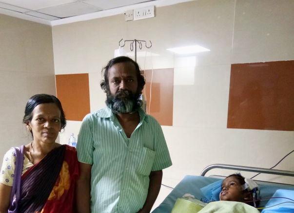 Help 5-year-old Srivarsan Fight Against Brain Cancer