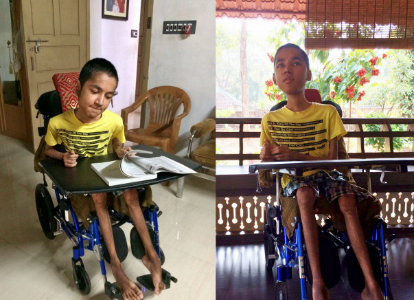 Help Abhay fight a genetic disorder: Duchenne Muscular Dystrophy (DMD)