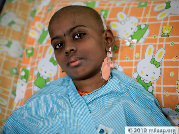 This Brave 9-YO Girl Is Determined To Beat Cancer, For The Second Time