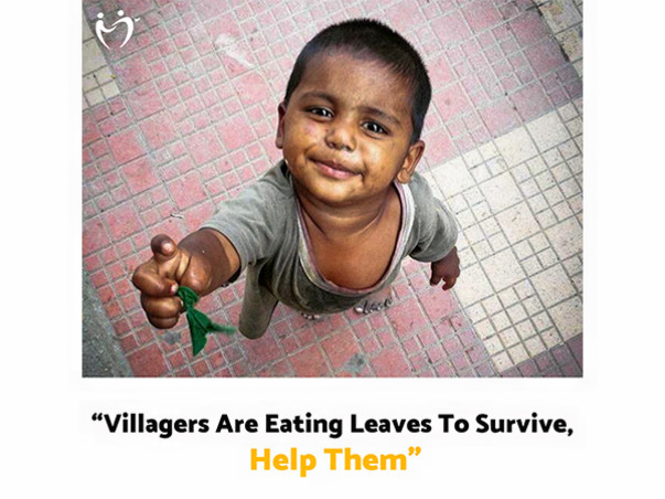 HELP TRIBALS (Aadivasi) FIGHT HUNGER