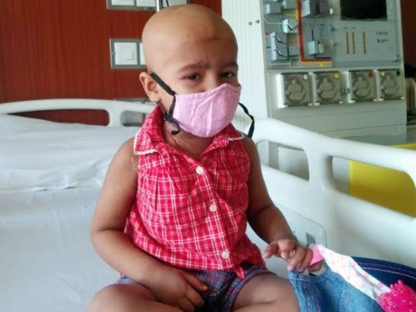 #Your Contribution Can Be Miraculous In Helping Ridhi Fight Cancer..Still needs your support..