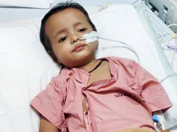 Please help Rayaan Undergo Cancer Treatment