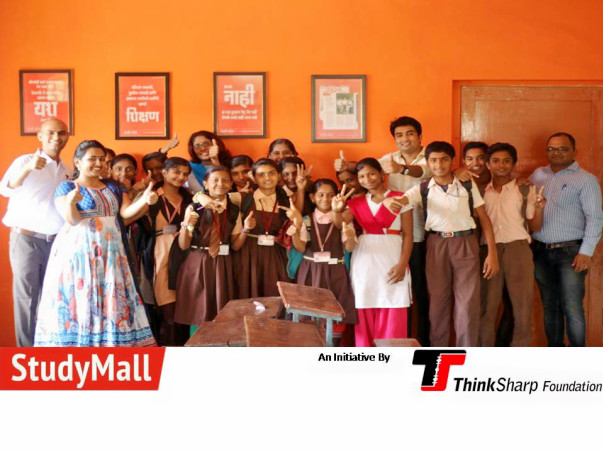 A StudyMall is a project which is more than just a library which provides better educational infrastructure in rural areas.