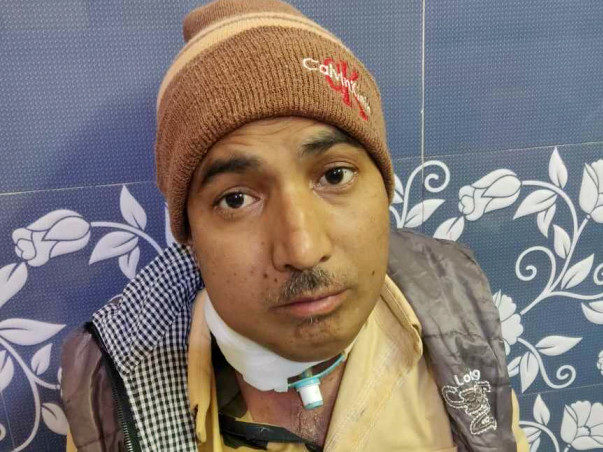 38 Years Old Rakesh Needs Your Help Fight Neck Cancer