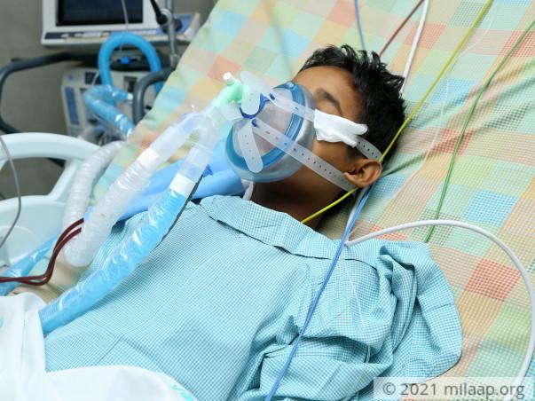 Mubarak ali needs your help to fight disease