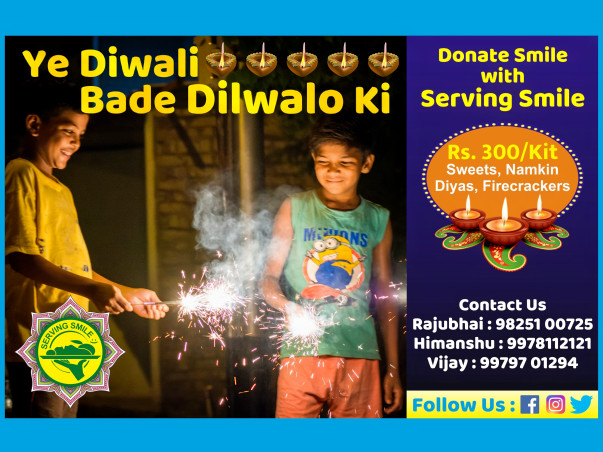 Ye Diwali Dilwalo ki with Serving Smile
