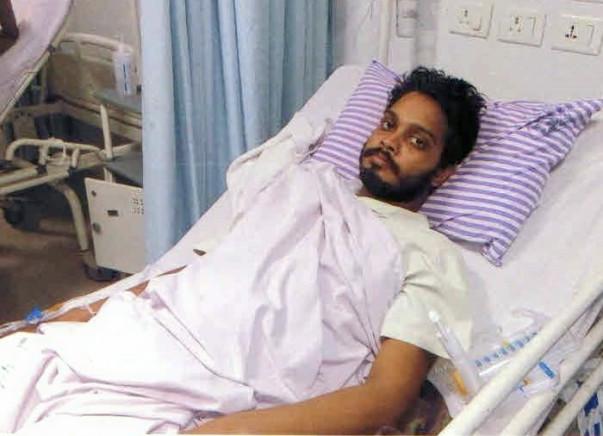 Help 23-year-old Khairul beat Vertebral tumor