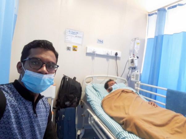 Help Mujahidul Fight Large B cell Lymphoma (Cancer)