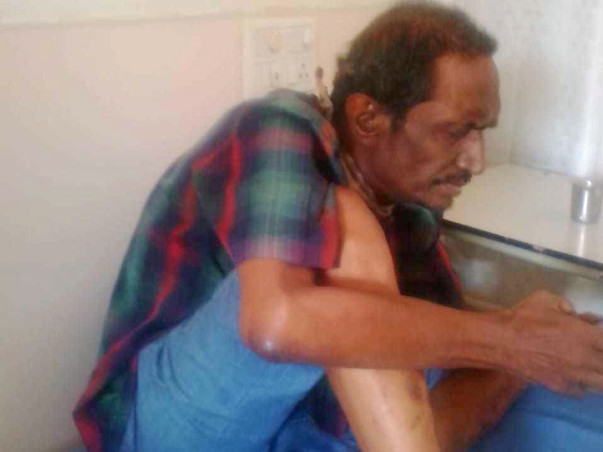 Help Sunil To Undergo Throat Cancer.