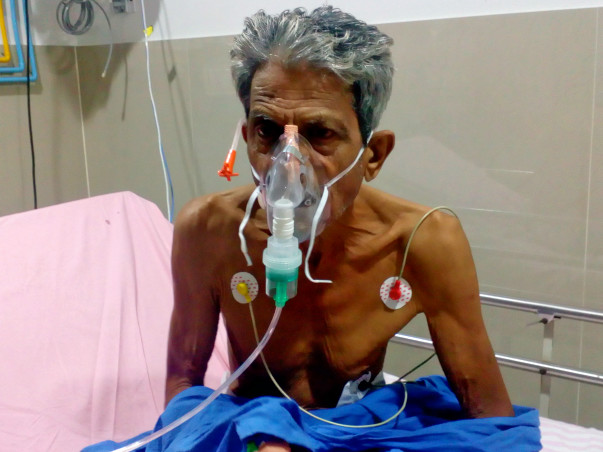 Help Subray Hedge suffering from Heart Problem.