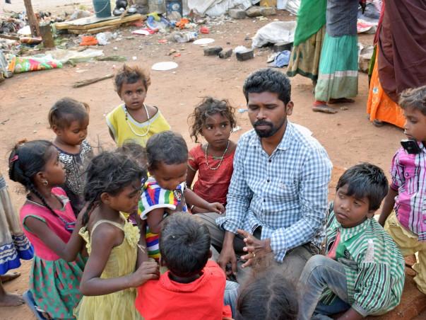 Help In Street Children Education And Get Them A School Van
